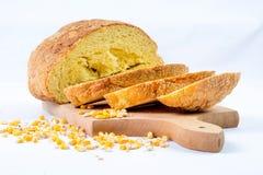 Fresh taste of bread stock photos