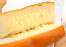 Bread With Margarine Royalty Free Stock Photography