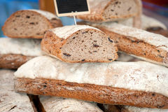 Bread at a market Royalty Free Stock Photos