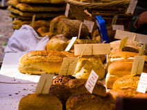 Bread Market Royalty Free Stock Photography