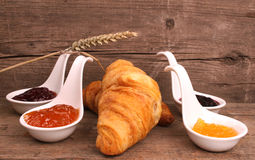 Bread and marmalade Royalty Free Stock Photos