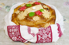 Bread for matchmaking. Handmade Royalty Free Stock Photography