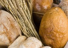 Bread mix stock photography