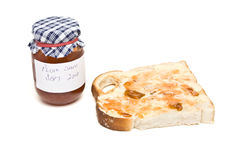 Bread n Jam Stock Photo