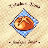 Bread On A Napkin 3 Royalty Free Stock Image