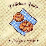 Bread On A Napkin 14 Royalty Free Stock Photo