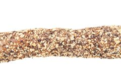 Bread with oat flakes and sesame seeds. Royalty Free Stock Photo