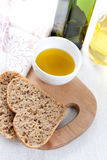 Bread and oil Royalty Free Stock Image