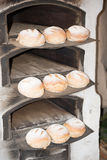Bread in an old fashioned bakery Stock Photography