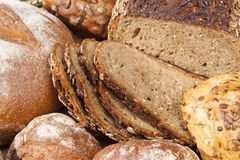 Bread and other bakery Stock Images