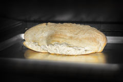 Bread in the Oven Stock Photos