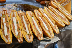 Bread Pakoda stock photography