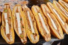 Bread Pakoda stock photo