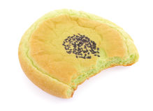 Bread pandan  sprinkled with sesame seeds Royalty Free Stock Photo