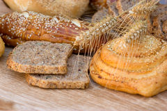 Bread and pastry Stock Image