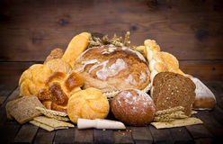 Bread and pastry Stock Photo
