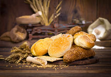 Bread and pastry Stock Photography