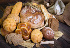 Bread and pastry Stock Images