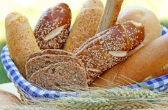 Bread and pastry Stock Photos
