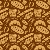 Bread pattern Royalty Free Stock Image