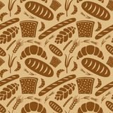 Bread pattern Royalty Free Stock Photos