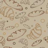 Bread pattern Stock Photo