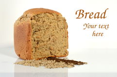 Bread. Picture of bread with text space Stock Image