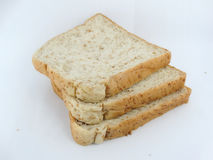 Bread. Place the bread on a white background Royalty Free Stock Photography