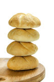 Bread placed in the tower Royalty Free Stock Images
