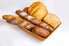 Bread plate Stock Photo