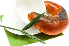 Bread with poppy seeds Royalty Free Stock Photos