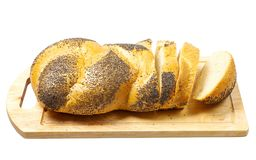 Bread with poppy seeds. Stock Image