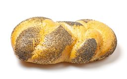 Bread with poppy seeds. Royalty Free Stock Photography