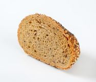 Bread with poppy, sunflower and sesame seeds Stock Image