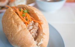 Bread pork, Vietnamese style food. Royalty Free Stock Photos