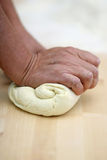 Bread processing Royalty Free Stock Photo