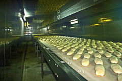 Bread production 1 Royalty Free Stock Photography