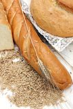 Bread products Royalty Free Stock Images