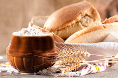 Bread products Stock Photos