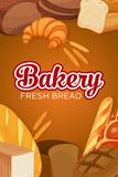 Bread products Royalty Free Stock Photos