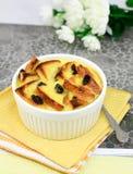 Bread pudding Stock Image