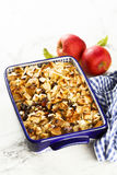 Bread pudding Stock Images