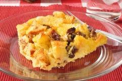 Bread pudding closeup Stock Photos