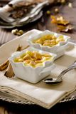 Bread Pudding Stock Photo