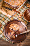 Bread pudding dessert Stock Photography