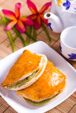 Bread puff pastry Stock Photography