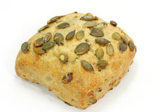 Bread with pumpkin seed royalty free stock image