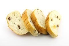 Bread with raisin Stock Photo