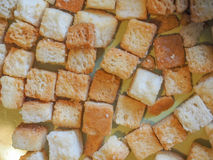 Bread for Ribollita tuscan soup Royalty Free Stock Photography
