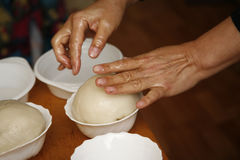 Bread from a rice flour Stock Image